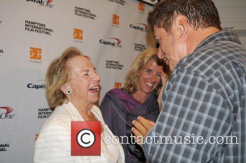 Alec Baldwin, Ethel Kennedy The Hamptons International Film...