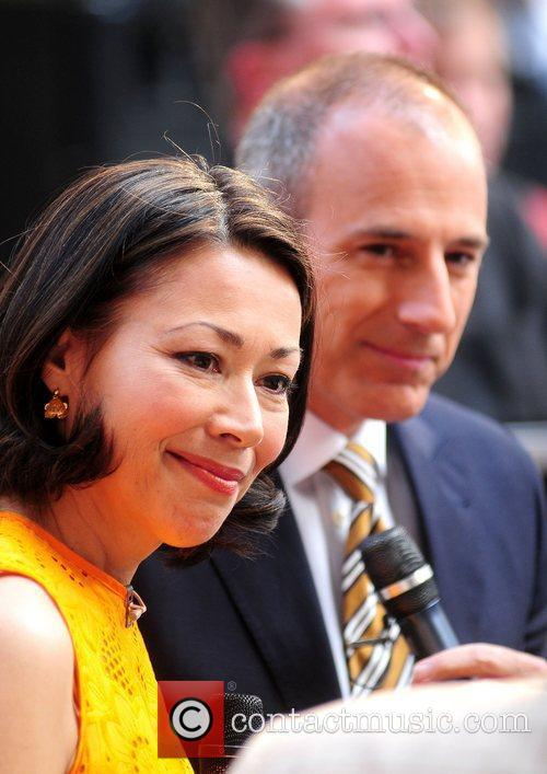 Ann Curry and Matt Lauer 3