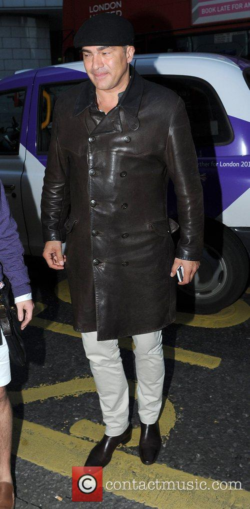 Tamer Hassan attends the Kensington Club launch party...