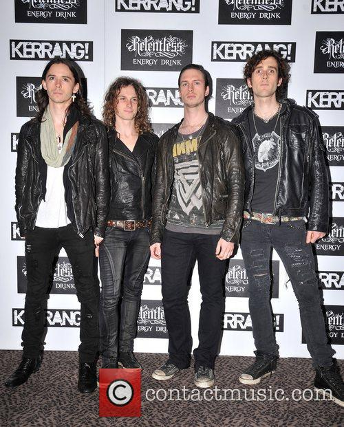 Heaven's Basement Kerrang! Awards held at the Brewery...