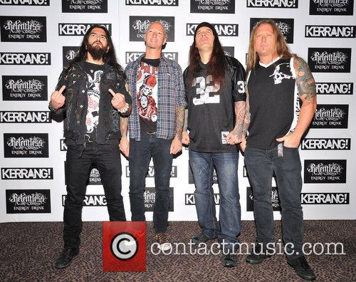 Machine Head Kerrang! Awards held at the Brewery...