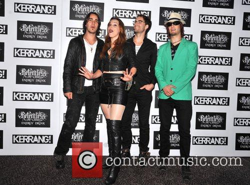 Halestorm Kerrang! Awards held at the Brewery -...