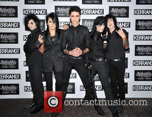 Black Veil Brides  Kerrang! Awards held at...