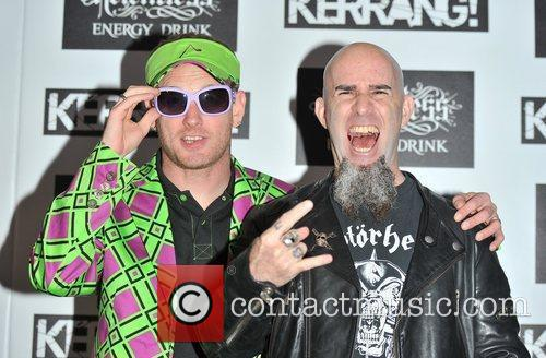 Corey Taylor & Scott Ian  Kerrang! Awards...