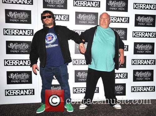 Jack Black and Kyle Gass of Tenacious D...