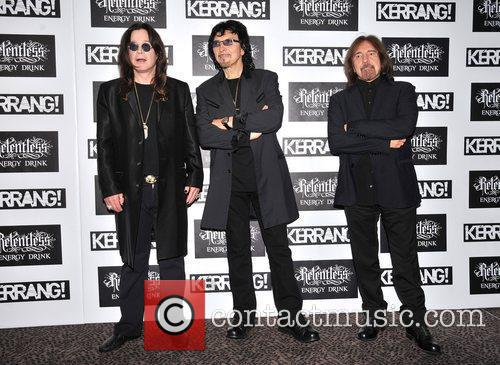 Ozzy Osbourne and Black Sabbath Kerrang! Awards held...