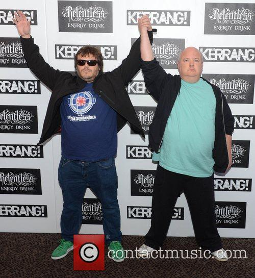 Jack Black and Kyle Gass from Tenacious D...