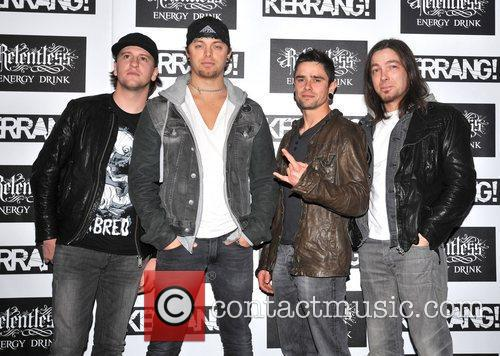 Bullet for my Valentine Kerrang! Awards held at...