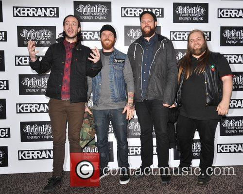 Cancer Bats Kerrang! Awards held at the Brewery...