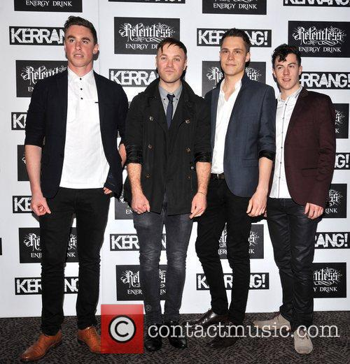 Don Broco Kerrang! Awards held at the Brewery...