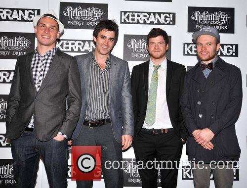 Enter Shikari Kerrang! Awards held at the Brewery...