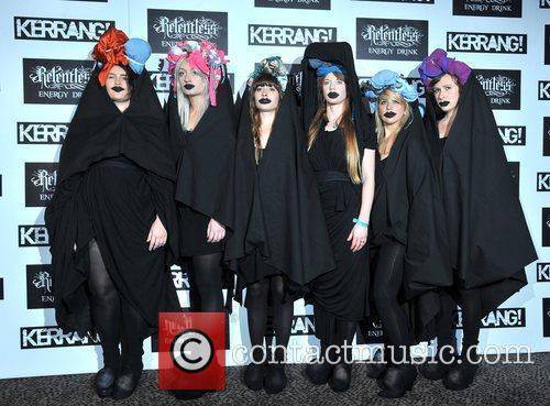 Guests Kerrang! Awards held at the Brewery -...