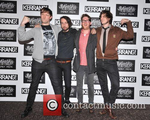 Hawk Eyes Kerrang! Awards held at the Brewery...