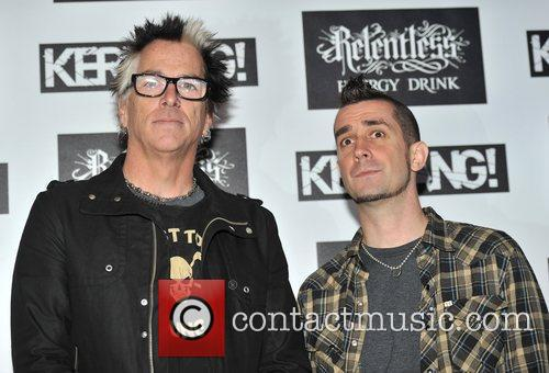 Noodles and Pete Parada from The Offspring Kerrang!...