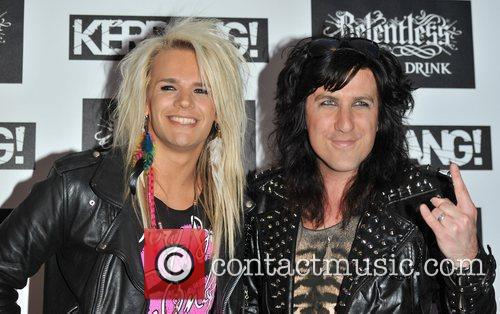 Olli Herman and Pepe of Reckless Love Kerrang!...