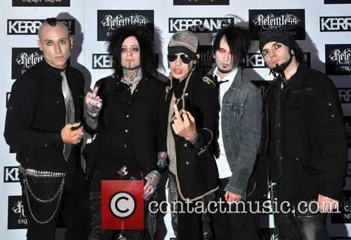 The Defiled Kerrang! Awards held at the Brewery...