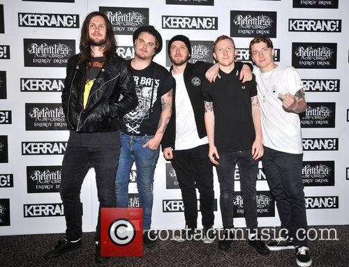 While She Sleeps Kerrang! Awards held at the...