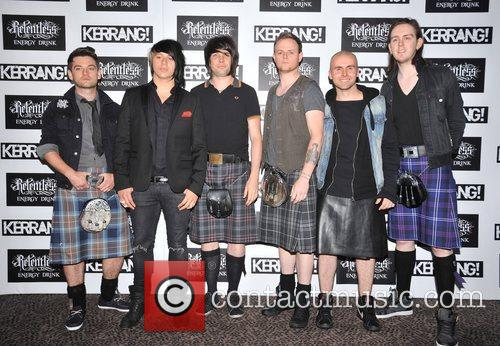 Yashin Kerrang! Awards held at the Brewery -...