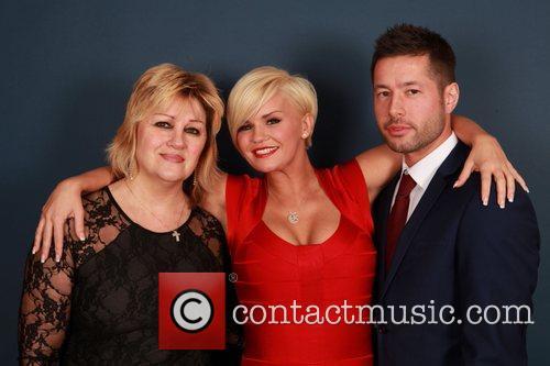 Patti Bradshaw with Kerry Katona and her boyfriend...