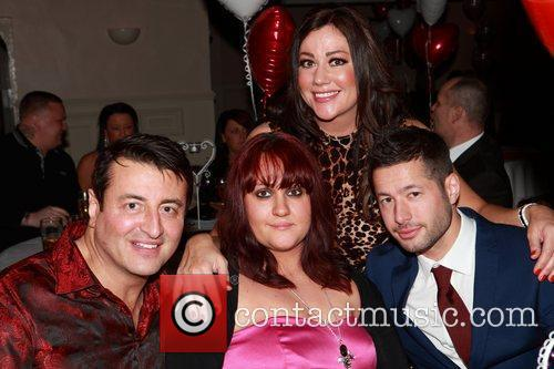 Steve Alce with Mario Marconi and Lisa Appleton...