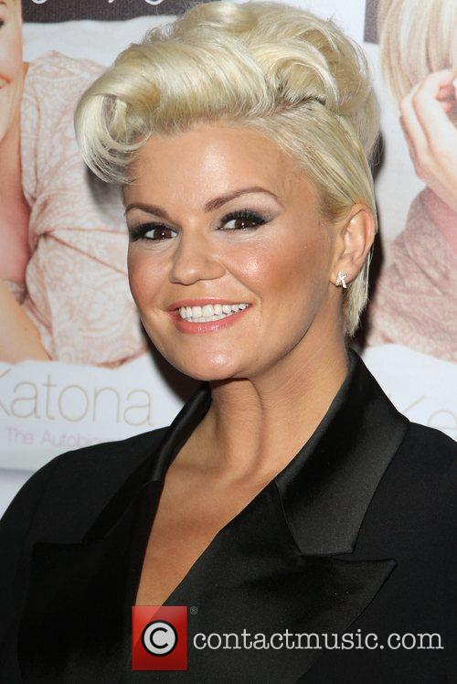 kerry katona launches the second volume of 4184578
