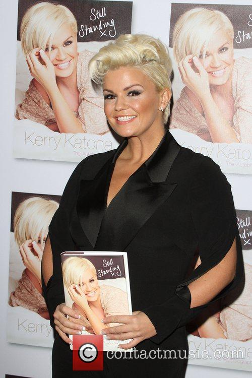 kerry katona launches the second volume of 4184579