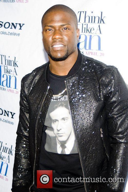 Kevin Hart at an advance screening for the...