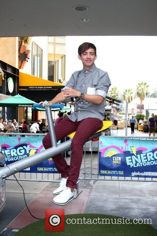 Kevin McHale at the FOX and Teen Choice...