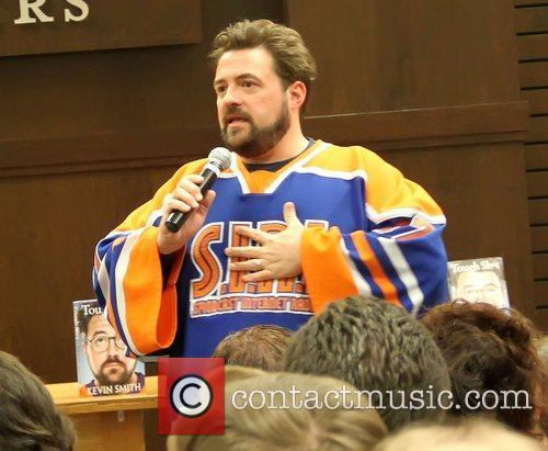 Kevin Smith  attends a book signing for...