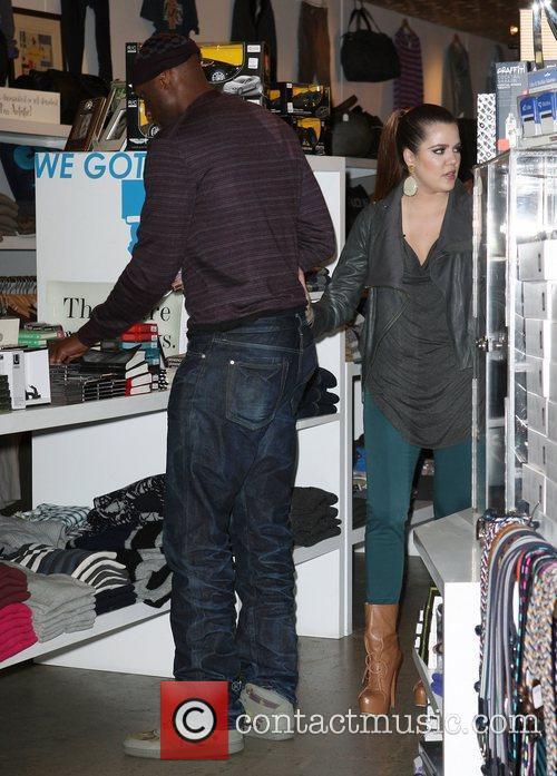 Lamar Odom and Khloe Kardashian 3