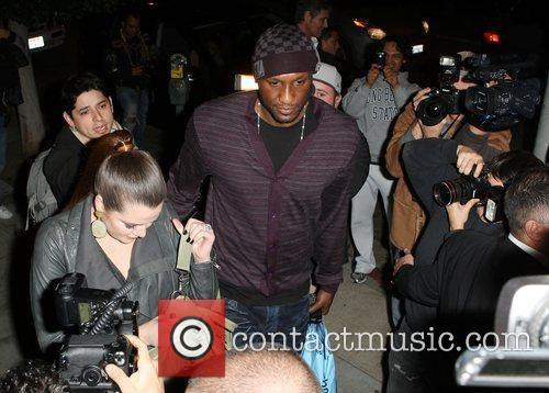 Lamar Odom and Khloe Kardashian 6