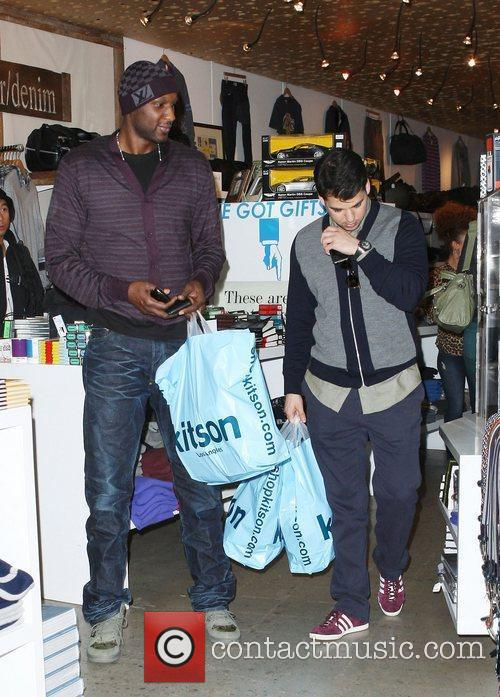 Lamar Odom and Rob Kardashian 11