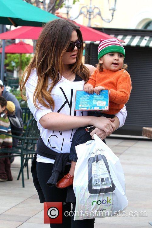 Khloe Kardashian takes her nephew Mason Disick shopping...