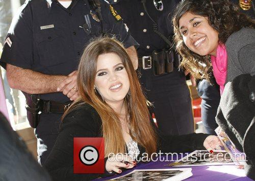 Khloe Kardashian attends a toy drive to benefit...
