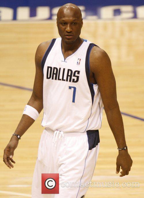 Dallas and Lamar Odom 1