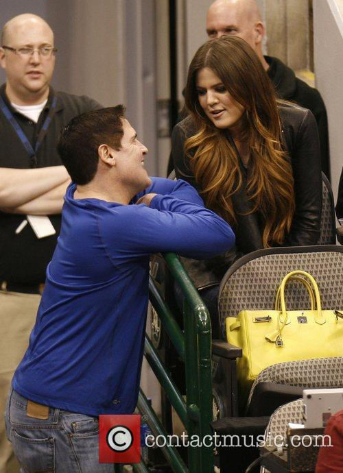 Khloe Kardashian, Dallas and Mark Cuban 3