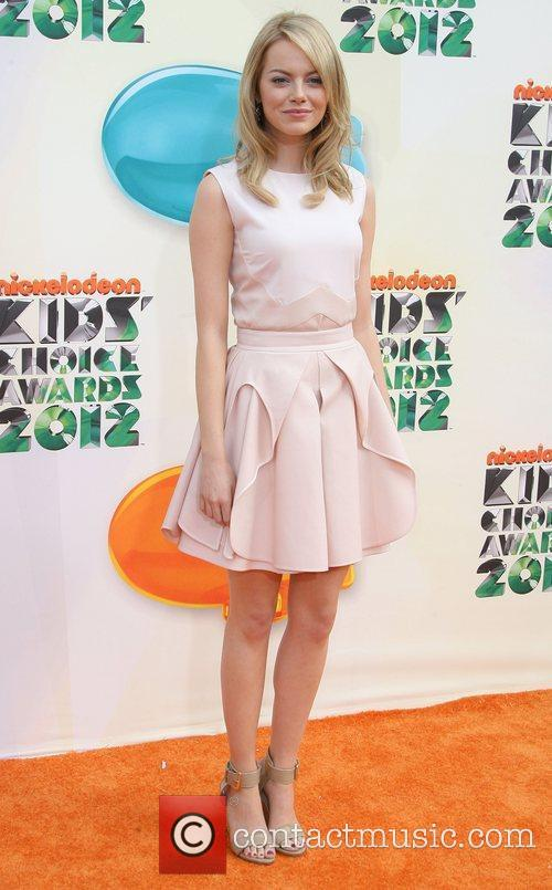 Emma Stone 2012 Kids Choice Awards held at...