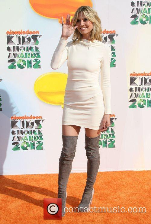 Heidi Klum 2012 Kids Choice Awards held at...