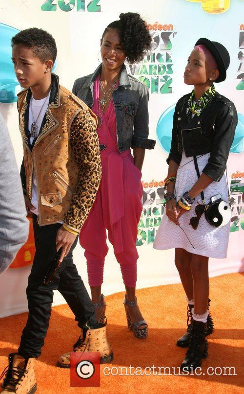 Jada Pinkett Smith, daughter Willow Smith and son...