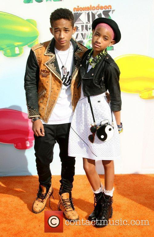 Jaden Smith and Willow Smith 1