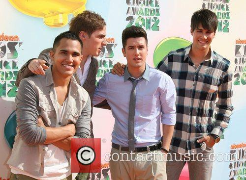 Carlos Pena, Kendall Schmidt, Logan Henderson and James...