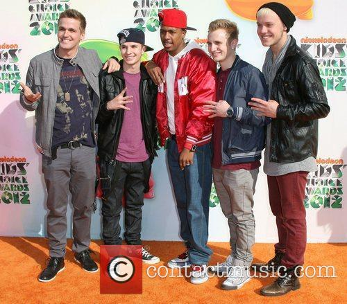 Nick Cannon and Guests 2012 Kids Choice Awards...