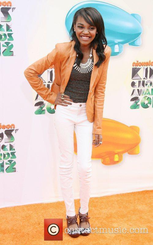 China Anne McClain 2012 Kids Choice Awards held...