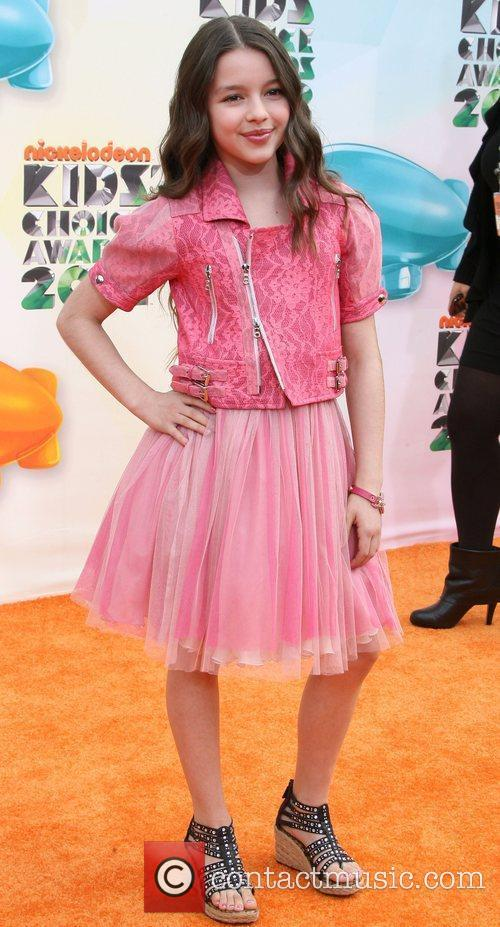 Fatima Placek 2012 Kids Choice Awards held at...