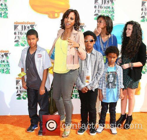 Holly Robinson Peete and children 2012 Kids Choice...