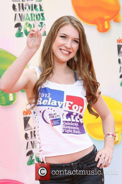 Nathalia Ramos 2012 Kids Choice Awards held at...