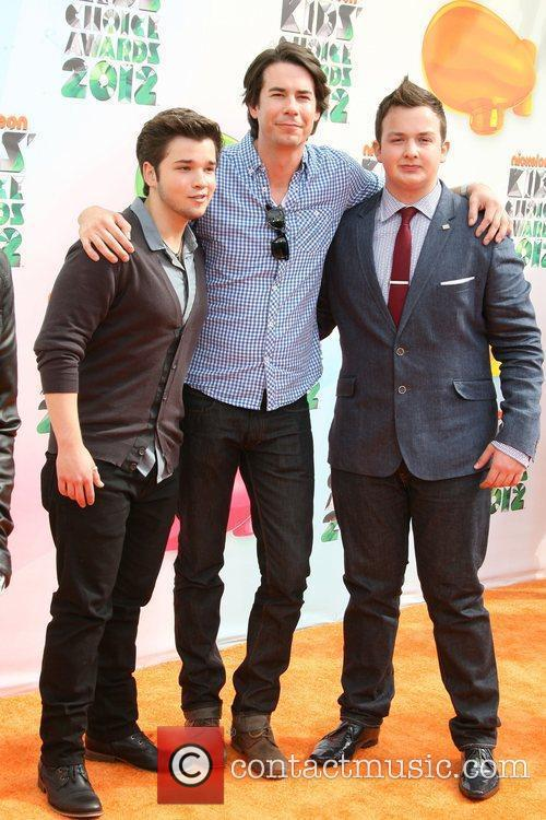 Nathan Kress, Jerry Trainor and Noah Munch 2012...