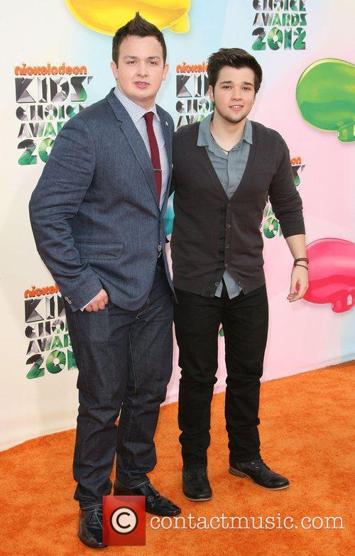 Noah Munch and Nathan Kress 2012 Kids Choice...