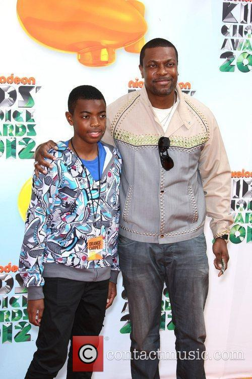Chris Tucker and son Destin Tucker 2012 Kids...