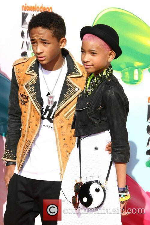 Jaden Smith, Willow Smith 2012 Kids Choice Awards...